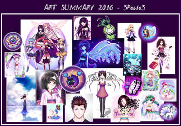 Art summary 2016 by 3Paula3