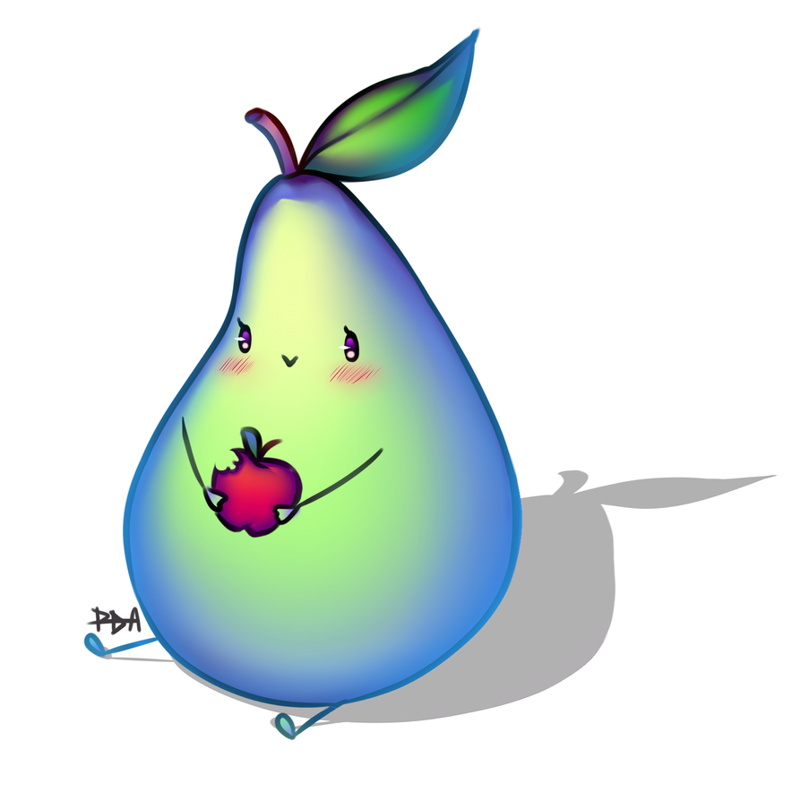 Pear-chan by 3Paula3