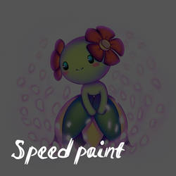 Bellosom Speedpaint by 3Paula3
