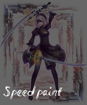 NieR: Automata - Speedpaint