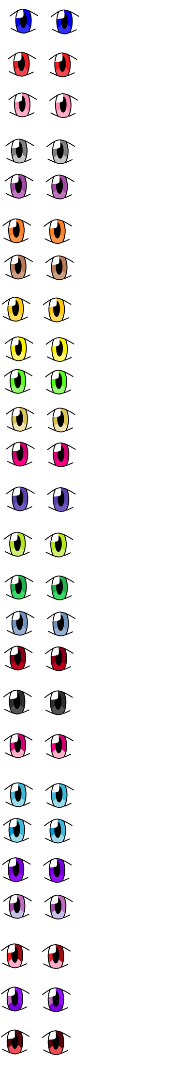 So much eyes!!!!! 0_o by FluttershyWarrior123