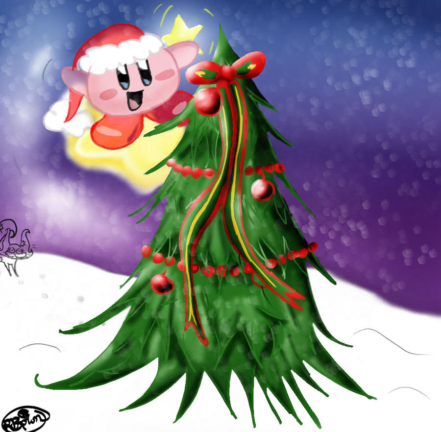 Kirby Christmas Request by Kitkat1324 on DeviantArt