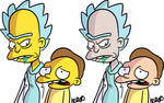 Rick and Morty and Groening