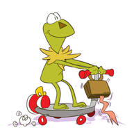 Kermit Scoots by WinWinStudios