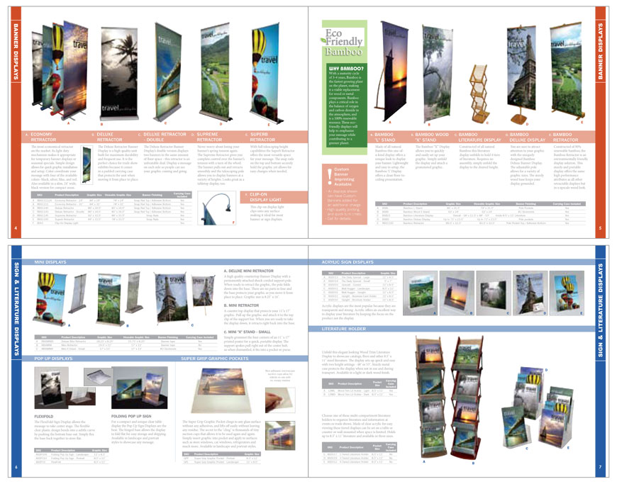 catalog layout