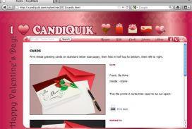 CANDIQUIK Valentine's Day