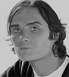 Portrait of Cillian Murphy by mallornleaf