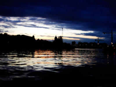 Amsterdam sunset by abnegative by BrailaCity