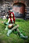 Poison Ivy - steampunk version cosplay