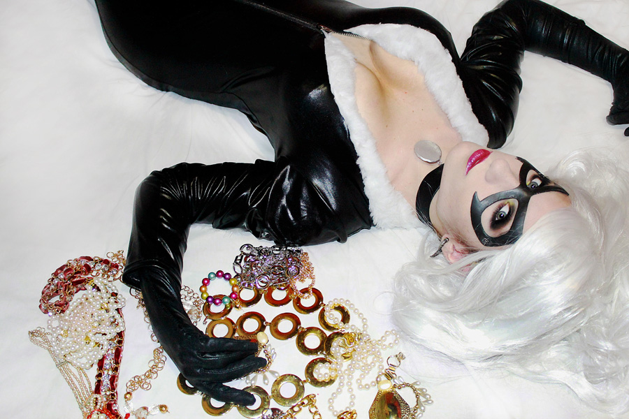 Black cat cosplay by Daisy-Cos