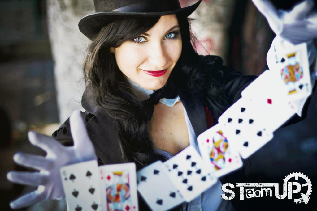 Zatanna Cosplay by Daisy-Cos