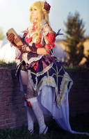 Elementalist Dignite - Granado Espada by Daisy-Cos