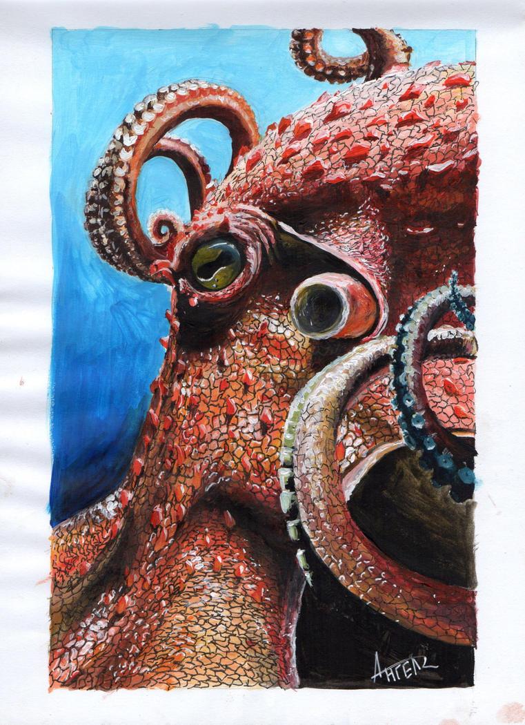 Octopus by AngelISKRA