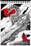 InkTober2019: #12 - Dragon