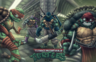 TMNT 2014 by Kyle-Fast