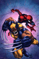 Savage Wolverine - Colors by Kyle-Fast