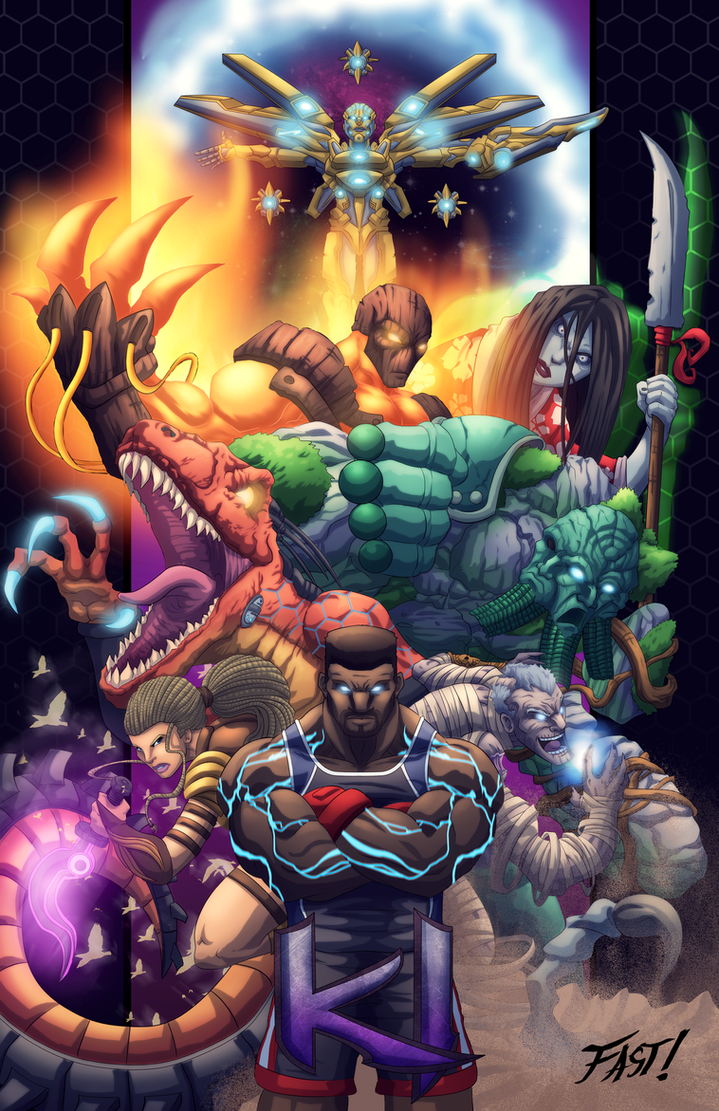 Killer Instinct Season 2 Tribute. by Kyle-Fast