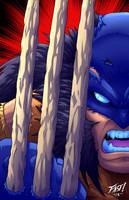 Yo savage ass boyee Wolverine