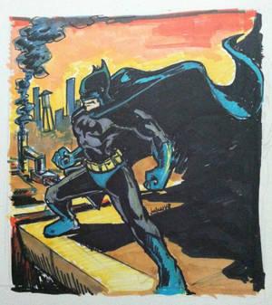 Classic style batman