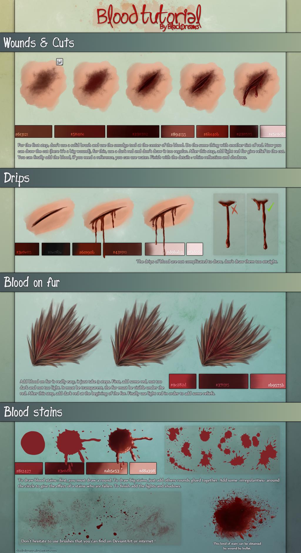 Blood - Tutorial by ShadeDreams