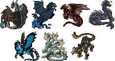 Mini sprites batch - Commissions by Nereiix
