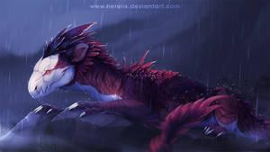 Mist and rain by Nereiix