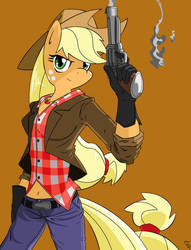 Applejack of Sharon Cassidy by AmostheArtman