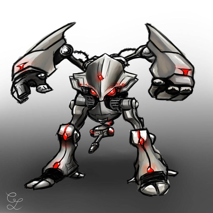 [ ROBOT ] Mecha !  by Laurylia