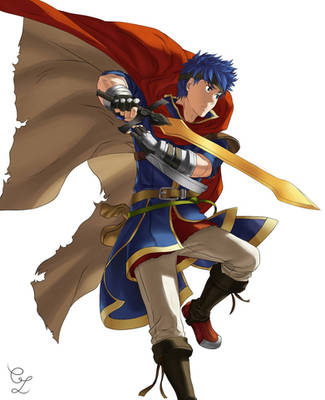[ FIRE EMBLEM HEROES ] Ike !  by Laurylia