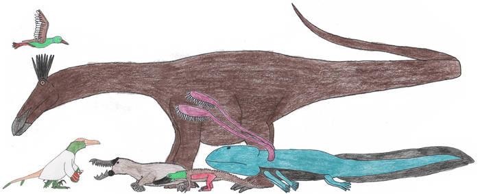 Extinct Five of Ponodas