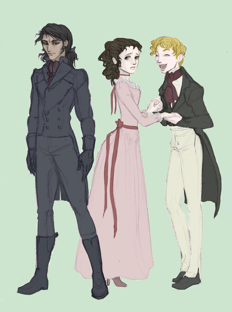 A comparison of wuthering heights characters in edgar linton and heathcliff