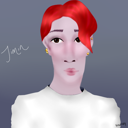 Park Jimin (BTS) Fanart by MidnightWaifuWaffles