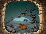 Halloween Fantasy Landscape