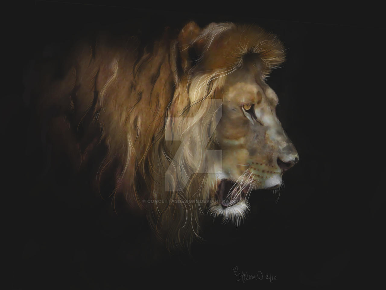 King of the Jungle by concettasdesigns