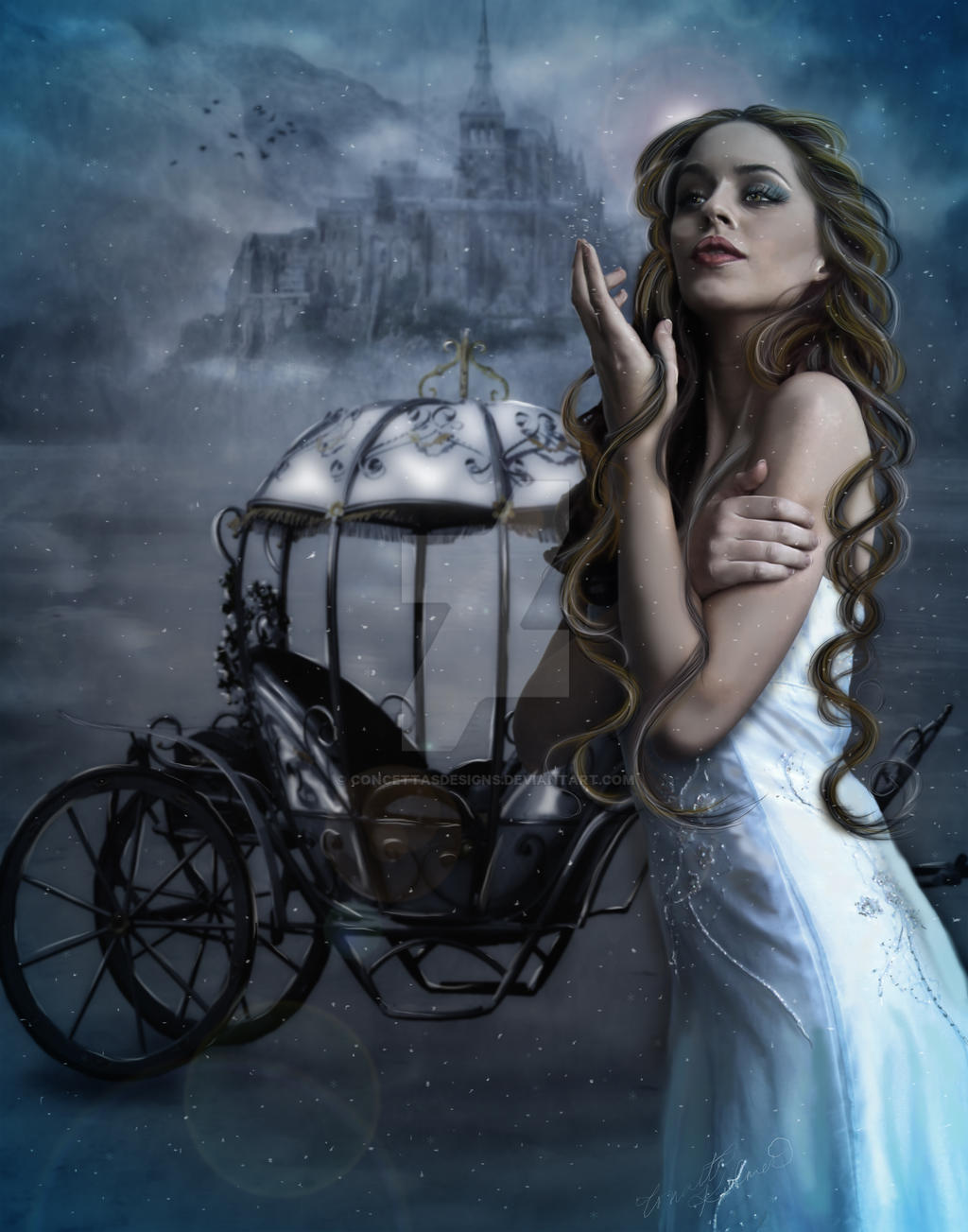 Snow Princess by concettasdesigns