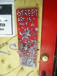 street art is not a crime by elmaks