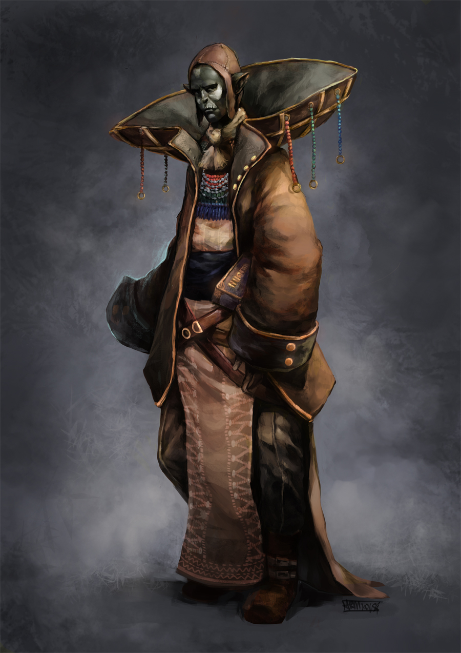 Monk Cleric Build