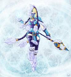Crystal Maiden - Winter Snowdrop by JBoden