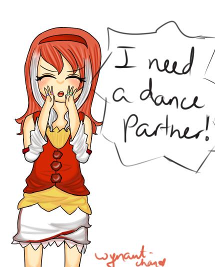 'I need a dance partner!' by Wynautwai