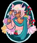 Elliot :: flower portrait