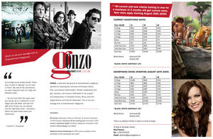 Gonzo '09 Media Kit Pg 2-3 by stacems