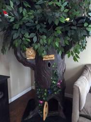 Fantasy Cat Trees - www.aHiddenHollow.com
