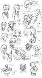 PKMNRB -GT- Doodles by caat