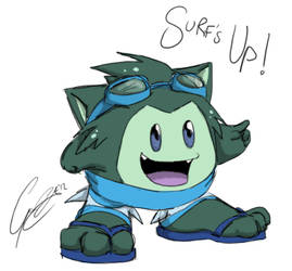 Misc - Surfs Up! by caat