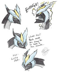 Kyurem by caat