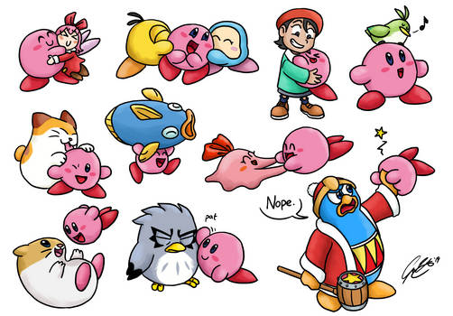 TRADE : Kirby, a Friend to All