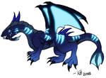 Cobalt Nether Drake