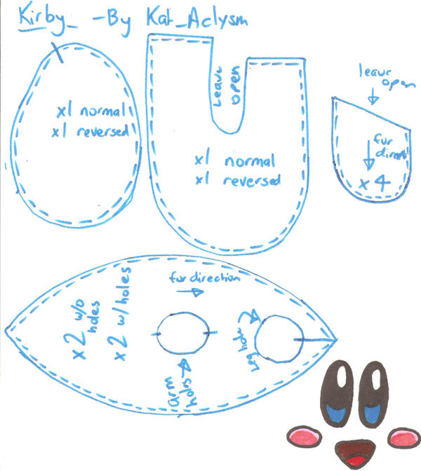 Kirby Pattern by Kat-Aclysm