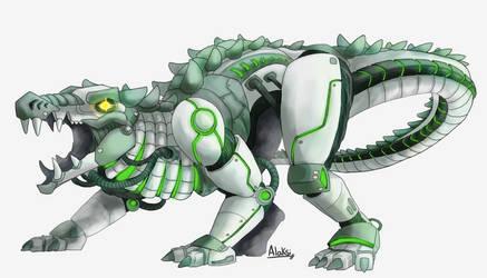 Kaprosuchus by Alaksi