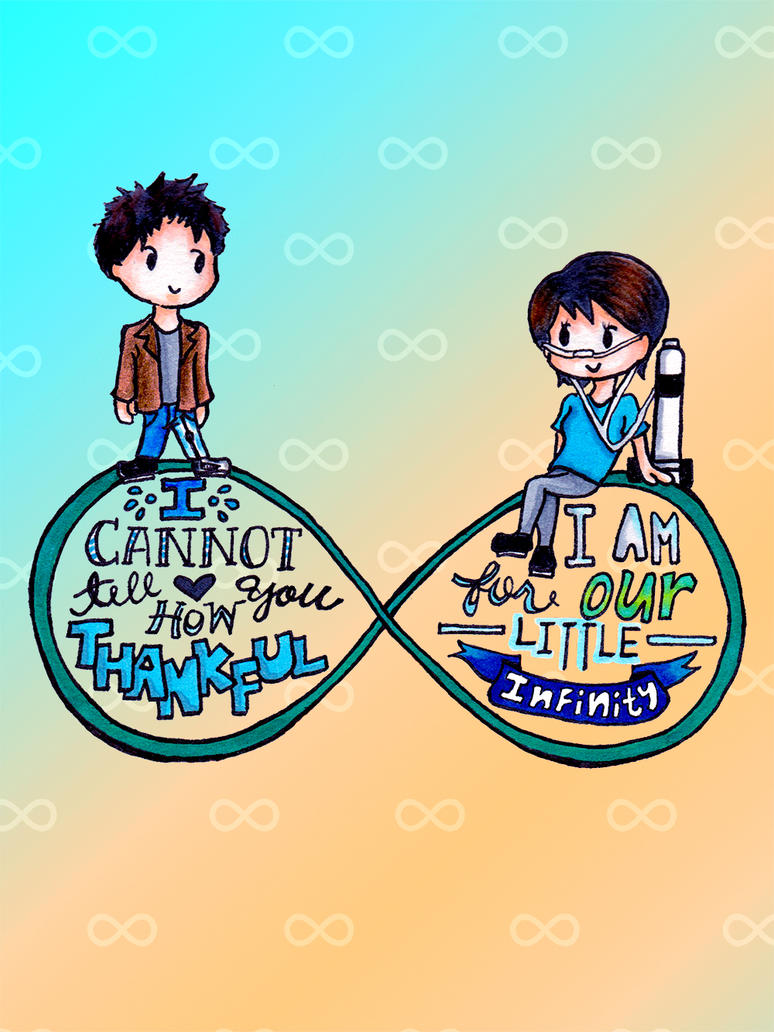 The Fault in our Stars Fan Art  infinity  by CharsheeeIsaac The Fault In Our Stars Fan Art